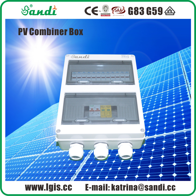 solar string combiner box with ABS box