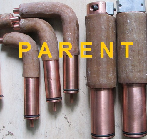 Spot Welding Gun Arms With Insulation Coating