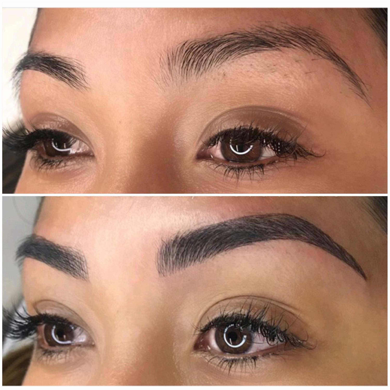 Microblading, Cejas, Eyebrows, Ombré, Stretch mark, Stretch mark ...